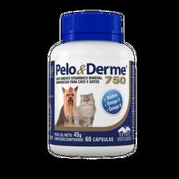Pelo y Derme 60 Capsulas (23 mg/250 mg/20 mg/1.5 mg/2.5 mg)