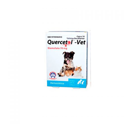 Quercetol Vet 10 Tabletas (70 mg)