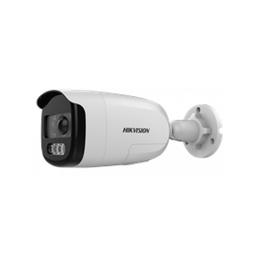Hikvision Cámara Bala 1080p Luz Blanca Hasta 40 Metros Color Vu