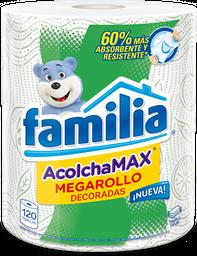 Familia Toallas de Cocina Acolchamax Megarollo Decor X120 H