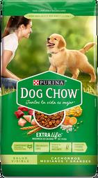 Comida para perro Dog Chow Cachorro medianos y grandes x 8 kg