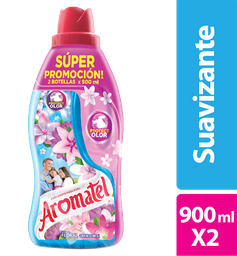 Aromatel Suavizante Fragancia Floral 2X900Ml