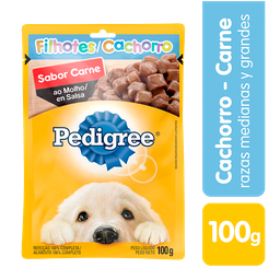 Pedigree Alimento Húmedo Carne Perro Cachorro