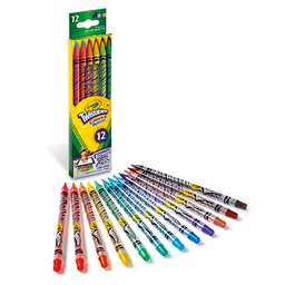 Lapices De Color Twistables X 12