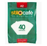 Filtro Papel P/Cafe N.2 Marca: Stilotex