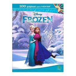 Frozen 100 Pag Para Colorear Disney 1 U