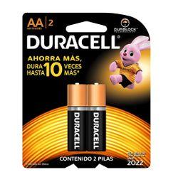 Pilas Duracell AA X2